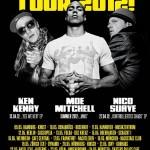 WE GOT SOUL TOUR 2012 – Nico Suave, Moe Mitchell und Ken Kenay