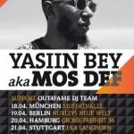YASIIN BEY a.k.a. MOS DEF LIVE! Deutschland Tour 2013 (Dates, Tickets, Infos)