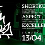 Verlosung! 13/04/13 GHETTO BLASTER CLASSIKZ with SHORTKUT