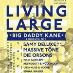20 Jahre Living Large – 27.04. – München Muffatwerk – Big Daddy Kane, Samy Deluxe, Edgar Wasser, Massive Töne uvm…