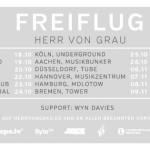 Herr von Grau – Freiflug Tour 2013 (12.10. – 09.11.2013)