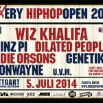 Mixery HipHop Open 2014 – Erste Acts bestätigt! (5.Juli 2014 / Stuttgart)