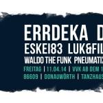 AWD Festival 2014 – 11.04. – Donauwörth // Live: ERRDEKA, DCVDNS, KEX KUHL, WALDO THE FUNK, uvm.