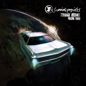 Strange Journey Volume Three by CunninLynguists cover