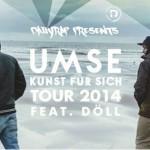 DAiLY RAP pres. UMSE & DÖLL Live // 11.10.2014 // Mahagoni Bar Augsburg