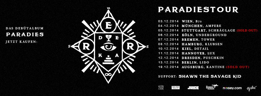 errdeka paradiestour 2014