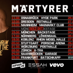 Live: Kool Savas – Märtyrer Tour 2015 (Tickets, Infos, Dates, Trailer)