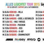 "EDGAR WASSER LIVE – ""ALLES LEUCHTET"" TOUR 2015 (Tickets, Dates, Infos)"