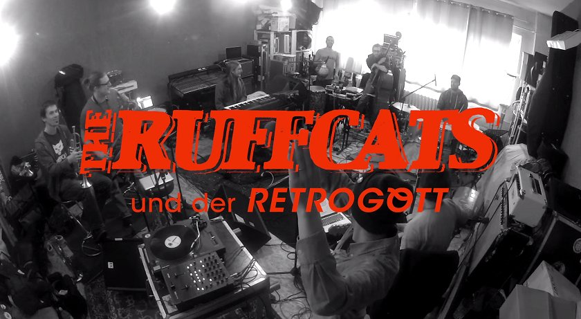 The Ruffcats und der Retrogott - Atomic Love Affair (Live Session)