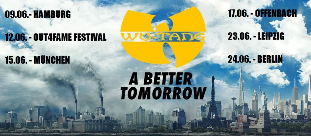 Wu Tang Clan A Better Tomorrow Tour 2015  Tickets
