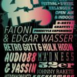 EAT THIS // 3. Juli – Erlangen // Live: Fatoni & Edgar Wasser, Retrogott & Hulk Hodn, Audio88 & Yassin, Mädness, Johnny Rakete uvm..