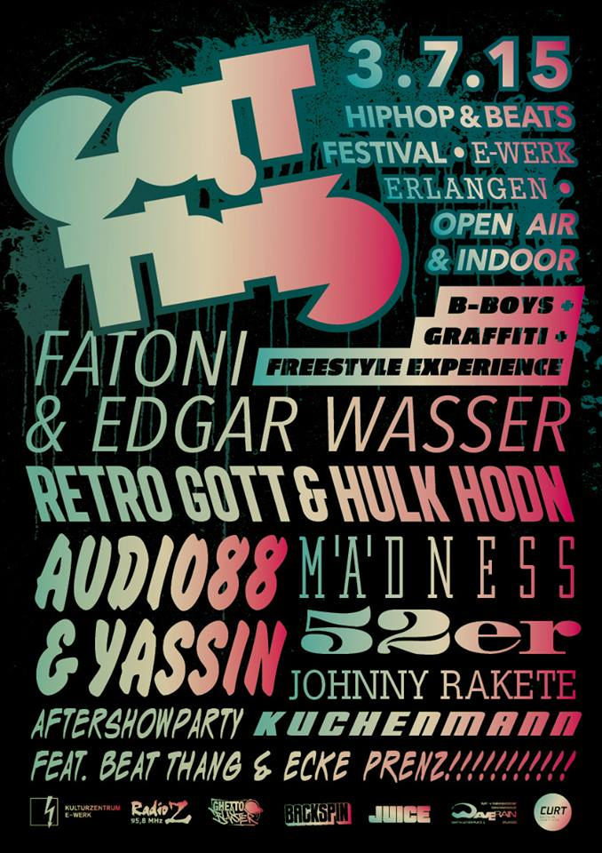 eat this festival 2015 mit fatoni, edgar wasser, johnny rakete audio88 yassin mädness
