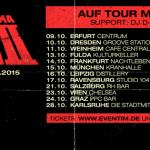 """Morlockk Dilemma auf """"Eiserner Besen II""""-Tour 2015 mit MC Bomber (Tickets, Dates, Infos)"""