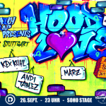 Hood Love #2 – 26.09. in Augsburg – Live aus Stuttgart: Kex Kuhl & Andi Tablez + Marz & Fingo Starr