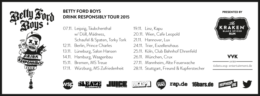 betty ford boys drink responsibly tour 2015