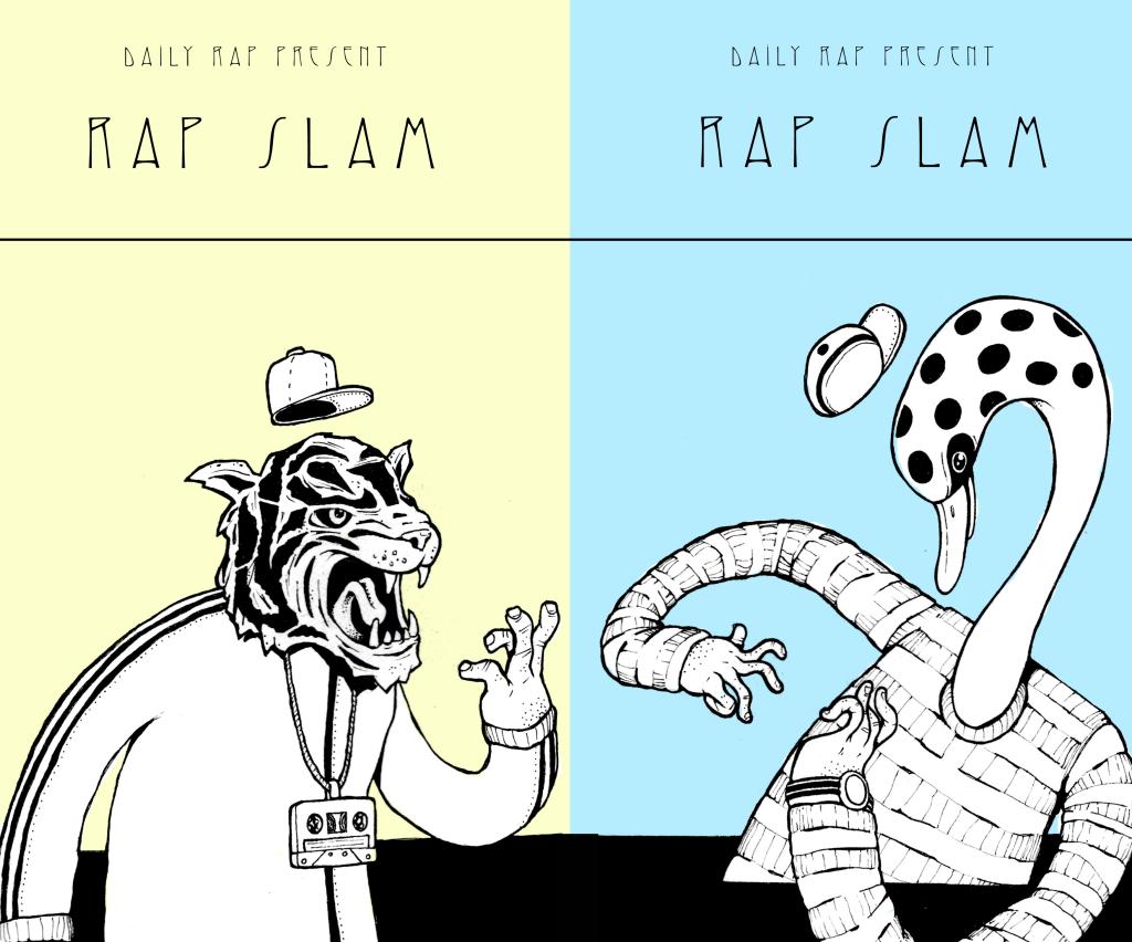 Plakat daily rap slam soho