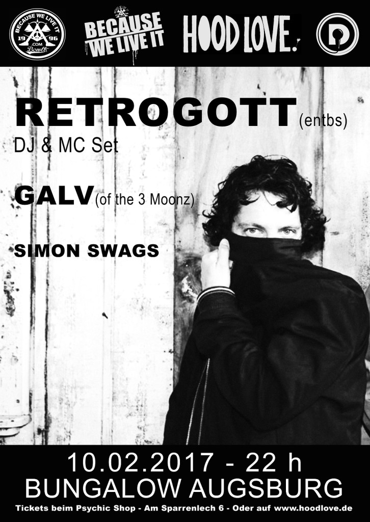retrogott augsburg bungalow galv 2017 hood love daily rap 10.02.