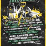 Tapefabrik Festival 2017 // 11. März // Schlachthof Wiesbaden // Mit Main Concept, Amewu, Retrogott, Betty Ford Boys uvm..