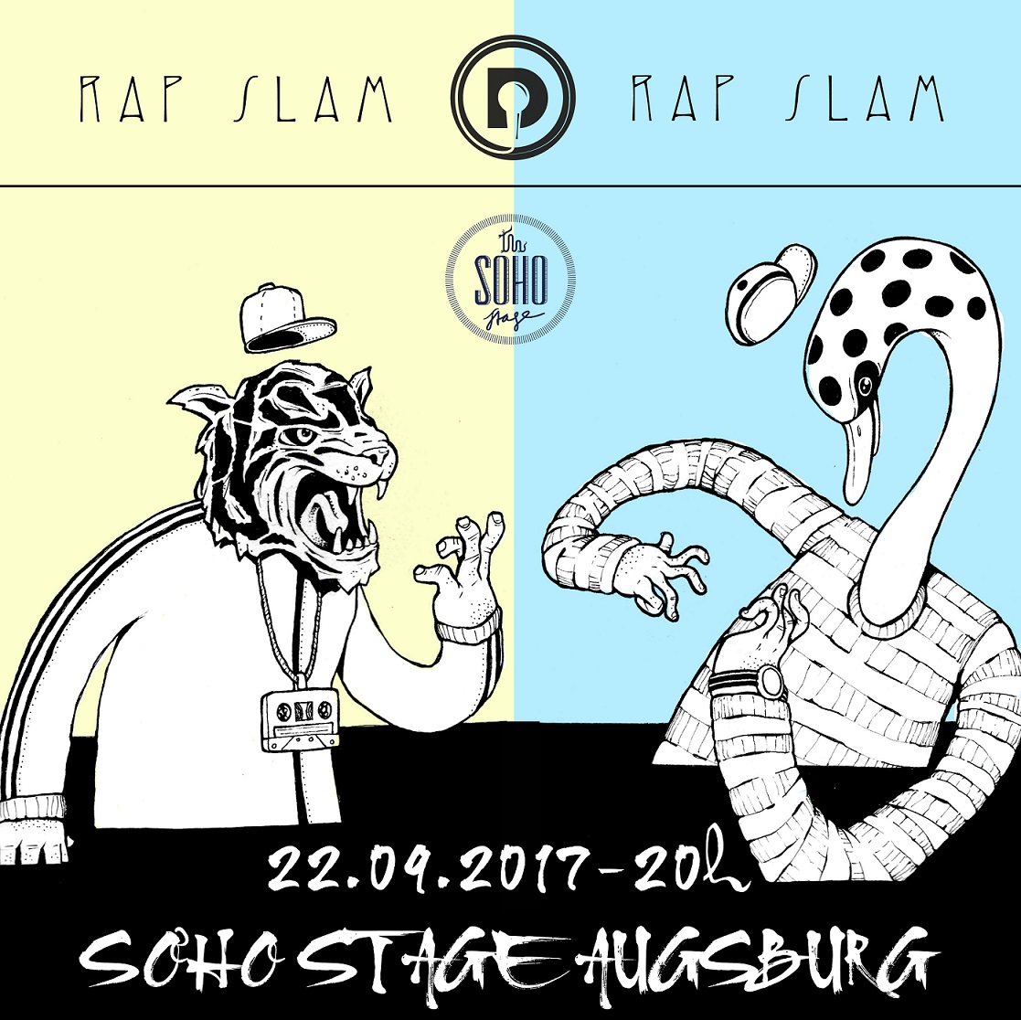 Soho Stage Daily Rap Slam Augsburg 2017