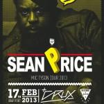 So What presents: SEAN PRICE Live / 17.2.13 / München