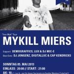 "Verlosung! 05.05. – Crux: Mykill Miers ""Iron Myk"" Tour – Support: Demograffics, LUX, Dj Mic-E Jongenz, Digitalluc & Cap Kendricks"