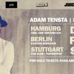 Adam Tensta Live // Hamburg, Berlin & Stuttgart // 06. – 08.11.2014