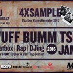WUFF BUMM Tschak Tour 2016 – 4xSample, SCU & Cutcannibalz, Stee (Tickets, Dates, Infos)