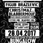 Figub Brazlevic & Christmaz feat. BlabberMouf – Ego & Soul Tour 28.04.17 @BUNGALOW Augsburg